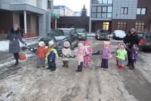 Питон со светоотражающими элементами для перехода через дорогу с детьми 2 23СП